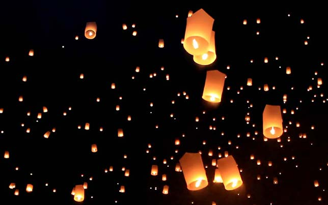 Loi Krathong celebration.