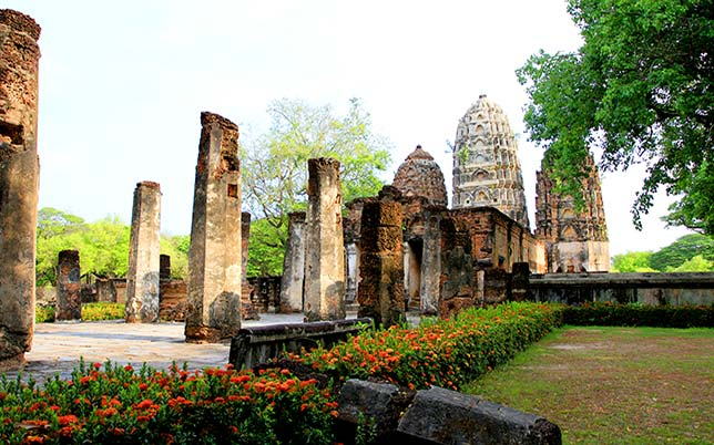 Temple of Sukhothai
