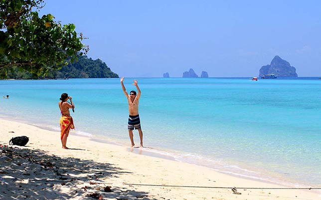 Koh Kradan Beach, Trang Islands.