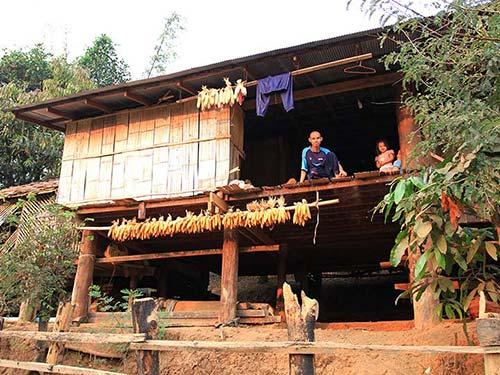 Karen village.