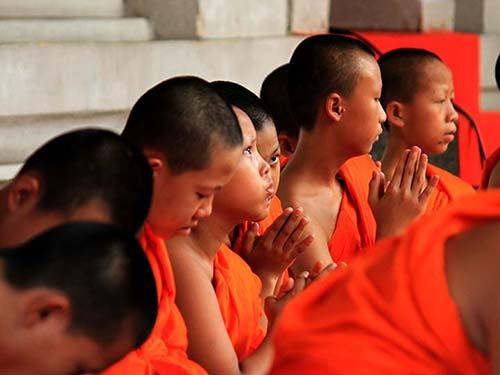 Buddhist monastery in Lamphun.