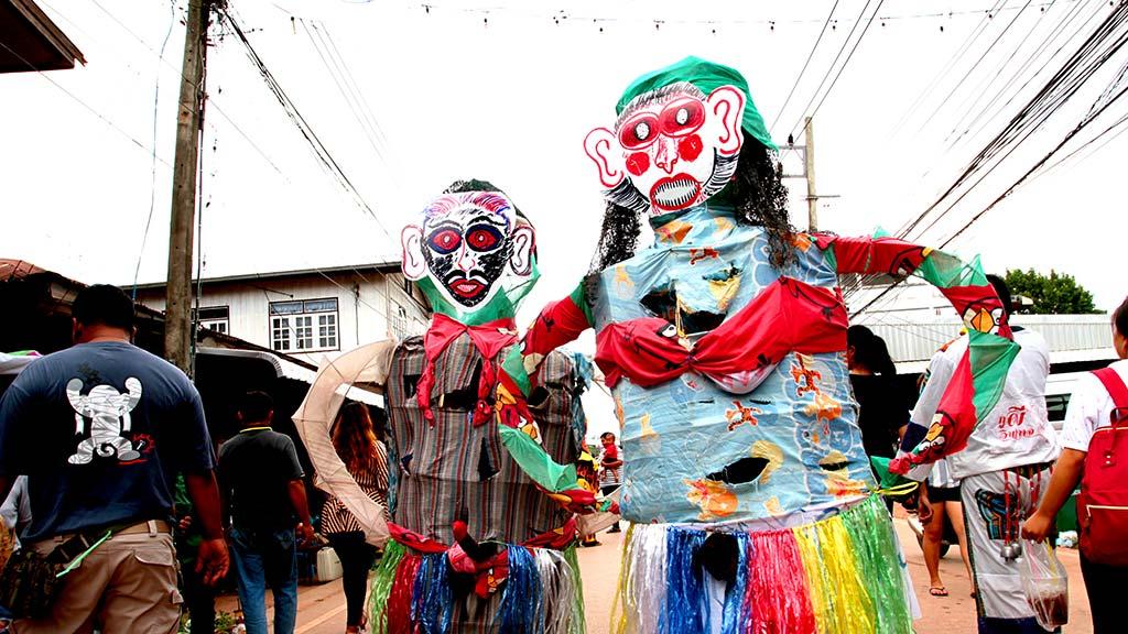 Phi Ta Khon festival, Dan Sai.