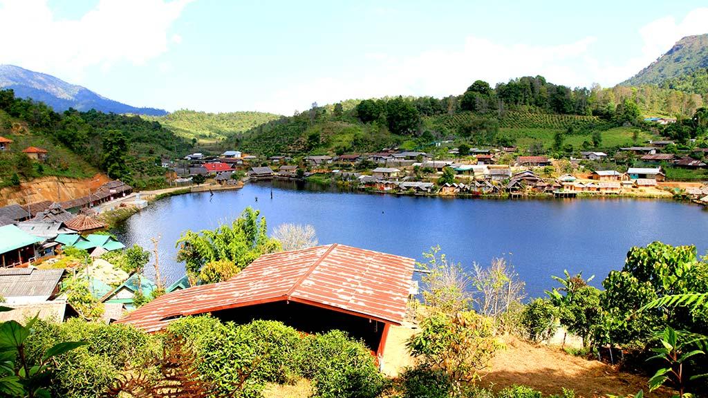 Ban Rak Thai. Chinese village.