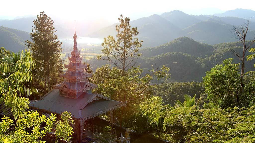 Mae Hong Son valleys.