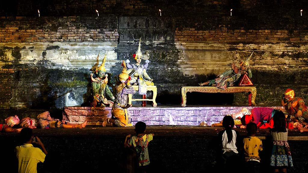 Theater play about the Ramakien.