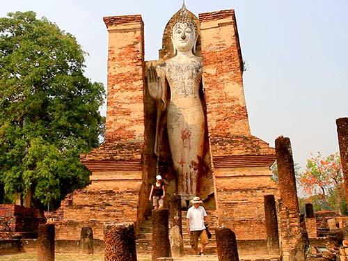 Mondop in the Wat Mahathat.