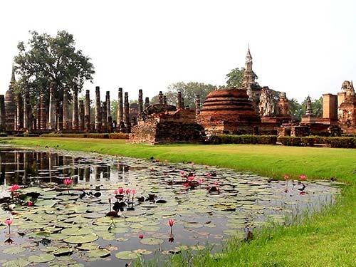 Wat Mahathat, Sukhothai.