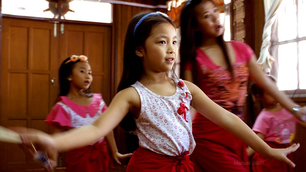 Dance School, Chiang Mai.