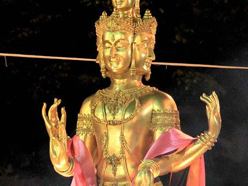 Hindu deity, Bangkok.