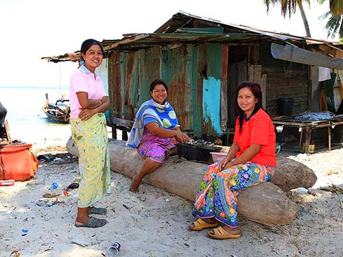 Women living in Koh Mook.