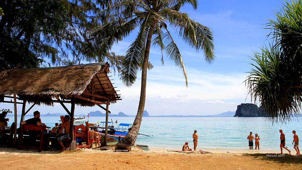 Koh Ngai Beach.