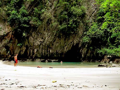 Emerald Cave, Koh Mook.