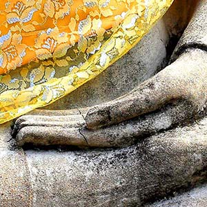 What is the meaning of mudras?
