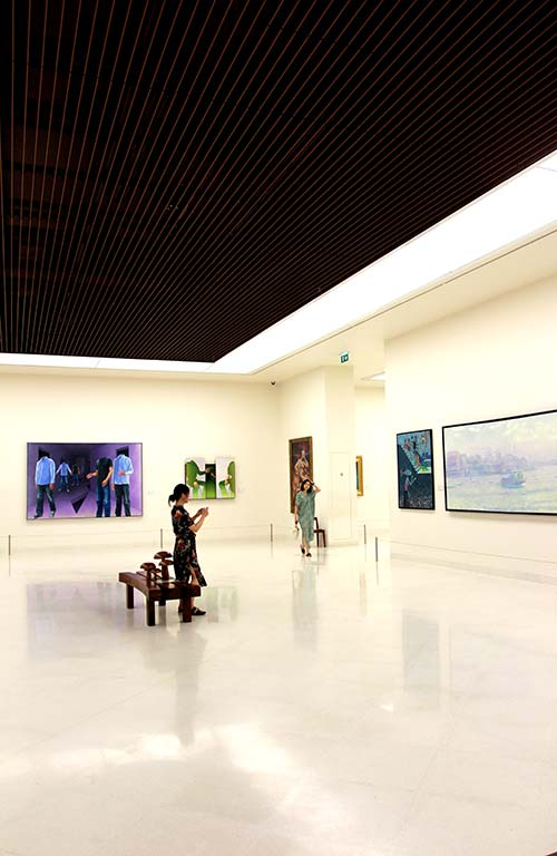 Sala of the MOCA in Bangkok.