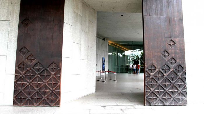 MOCA in Bangkok, entrance